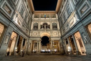 Uffizi Gallery Exterior_Florence